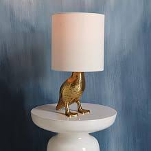 ceramic nature rabbit table l gilded hare l ensemble anthropologie light bulb and bulbs