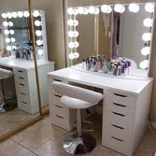 diy vanity mirror with lights omg too cool been wondering about