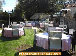 party rentals san fernando valley outdoor patio heaters