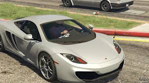 custom mclaren mp4 12c 2011 mclaren mp4 12c for gta 5
