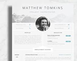 creative resume template photography resume template creative and original