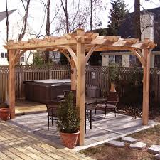 pergola design ideas pergola kits lowes astonishing design dark