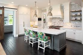 gray kitchen island gray kitchen island with curved white quartz countertop
