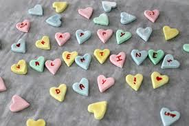 heart candies diy conversation hearts are a project for s day
