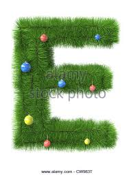 Christmas Decorations Made Tree Branches by Letter Made Christmas Tree Branches Stock Photos U0026 Letter Made