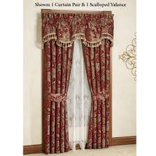 furniture decorating brown paisley curtains mystique tailored