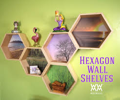 hexagon wall shelves woodworking for mere mortals