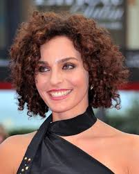 red short curly natural hairstyles