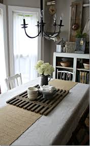 Dining Room Table Runners Upcycled Wood Table Runner Have Seen Those Before But Never Would
