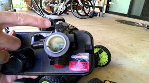 briggs and stratton lawnmower carburetor repair for surging