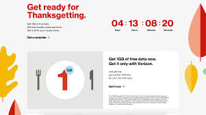 verizon thanksgiving deals free verizon data for thanksgiving here u0027s how to get it
