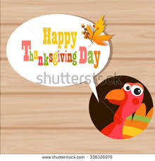 flat design style happy thanksgiving day stock vector 338094131