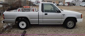 mitsubishi trucks 1990 1990 dodge ram 50 pickup truck item i9338 sold april 1