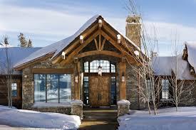 big sky log cabin floor plan modern rustic beartrap residence in big sky architects big sky