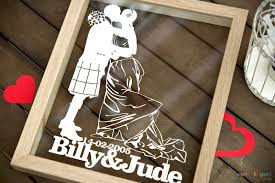 Unique Wedding Present Unique Wedding Gifts Ideas Personalised Papercuts