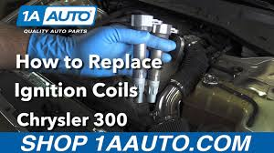 how to replace install ignition coils 2006 chrysler 300 buy