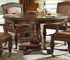Best Dining Chairs On Casters Images On Pinterest Dining - Round dining room table and chairs