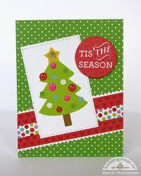 snippets by mendi a doodlebug santa express christmas card set