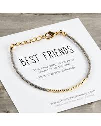 best friends friendship necklace images Amazing deal on gold best friends bracelet beads friendship