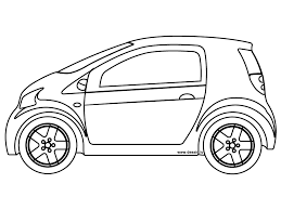 coloring small car