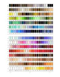 9 best images of gutermann thread color name chart gutermann