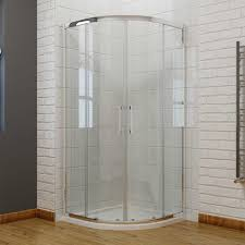 Easy Clean Shower Doors Quadrant Enclosure 8mm Easy Clean Nano Glass Shower Doors