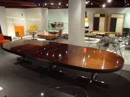 fascinating large oval dining room table ideas 3d house designs dining room a large oval dining table in macassar ebony at