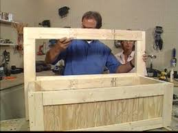how to build a toy box bench hgtv