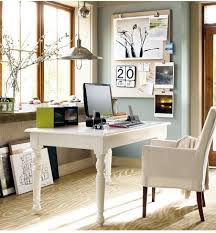 Pottery Barn Desk White Small Office And Scrapbook Room Happydaisyaz