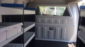 Shelves For Vans by Knapheide Sortimo Bin Package In Chevy Van Youtube