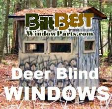 Hunting Blind Windows Whitetail Deer Hunting Blind Windows Door Kits Track Parts Lincoln