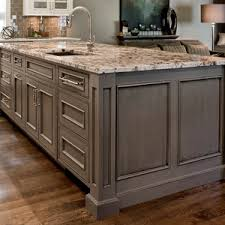 Kitchen Cabinets With Inset Doors Inset Doors With Beaded Face Frame Openings Gray Painted Island