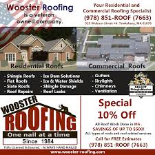 Free Estimates For Roofing by Ma Roofers Roofing Contractor Installation Roof Repairs Coupon