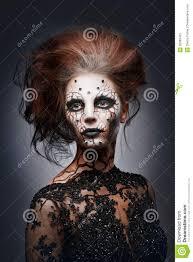 creepy queen stock image image 36380481