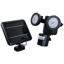 Solar Powered Address Light by Solar Outdoor Security Lighting Outdoor Lighting The Home Depot
