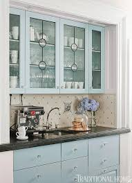White Kitchen Cabinets With Glass Doors Distinctive Kitchen Cabinets With Glass Front Doors Traditional