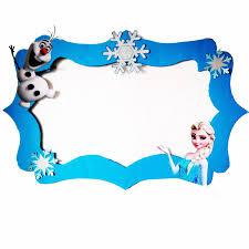 frozen elsa u0026 olaf photo booth frame party prop
