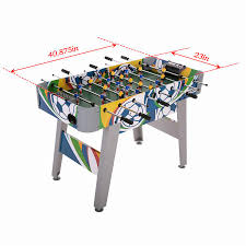 game room table kicker assembled table foosball family club sport
