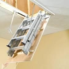 collapsible attic ladder attic ladders folding attic ladder