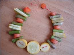 how do you make a vegetable necklace u2013 how to geeks