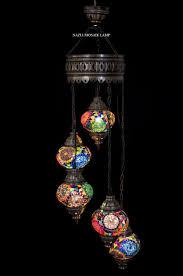 Turkish Lighting Fixtures Mosaic Chandelier Mosaic L Turkish L Moroccan Lantern
