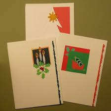 handmade quilled christmas cards frameable set of 3 original art