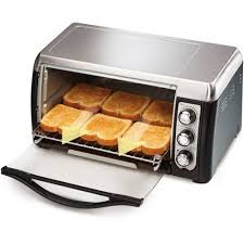 Toast In Toaster Oven Hamilton Beach 6 Slice Capacity Toaster Oven Model 31330