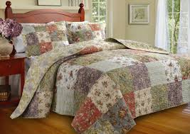 Bedspread Sets King Amazon Com Greenland Home Blooming Prairie King 3 Piece Bedspread