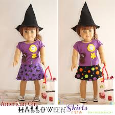 Doll Dress Halloween Costume Halloween Doll Skirts 2 Ways American Doll Clothes Pattern
