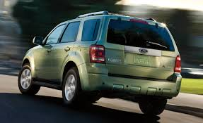Ford Escape Suv - ford confirms no hybrid model for all new 2013 ford escape car