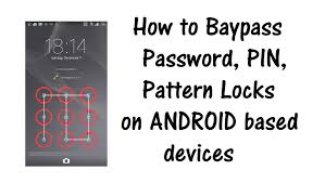 pattern lock using android debug bridge bypass password pin screen lock on samsung galaxy sony xperia