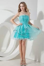 strapless lime green brilliant short prom dresses img2350 2821
