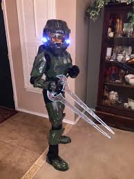 halloween costume lights master chief costume halloween 2014 album on imgur