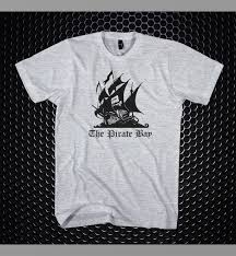 pirate bay logo t shirt